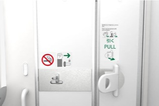 ANA to Install the World's First Hands-Free Lavatory Doors on 21 Aircraft