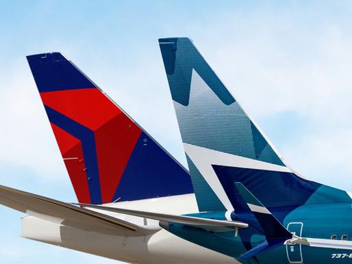 Delta and WestJet Launch Enhanced Elite Reciprocal Loyalty Benefits; Delta Expands Summer Network