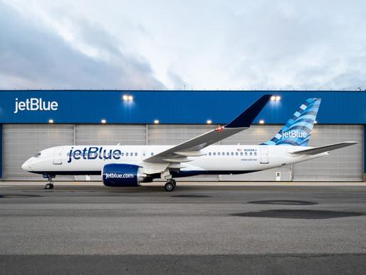 JetBlue Celebrates Entry Into Revenue Service of First Pratt & Whitney GTF Powered Airbus A220-300
