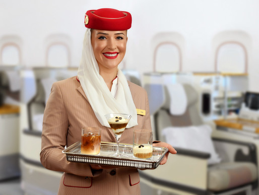 Emirates Expands Onboard Coffee Offer With Iced Americano and Affogato