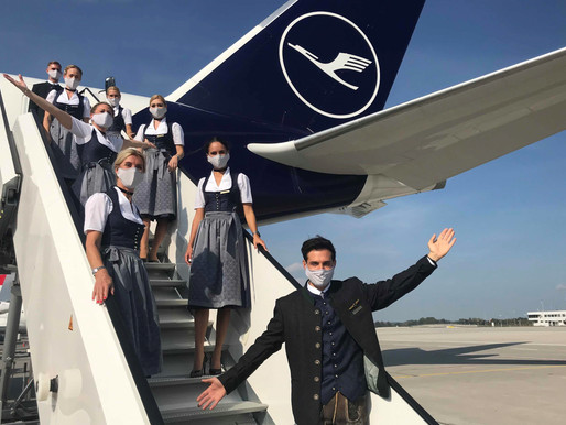 Lufthansa Trachtencrew to Takeoff for the U.S. and on 40 German and European Flights