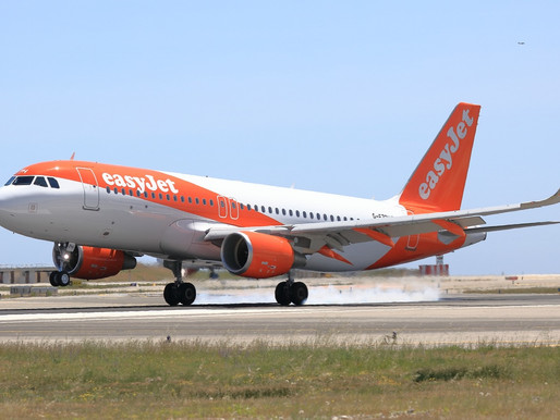 easyJet Launches New Route Between Cornwall Airport Newquay and London Gatwick