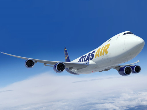Atlas Air Worldwide Purchases Final Four Boeing 747-8 Freighters, as Production Closes in 2022