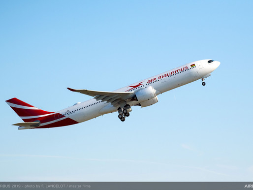 Air Mauritius to Launch Flights From Paris and Reunion in October