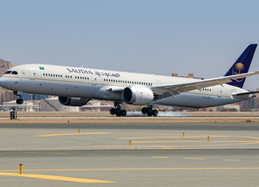 Saudi Arabian Airlines Receives Fifth Boeing 787-10 Dreamliner, Unveils New Aircraft Livery