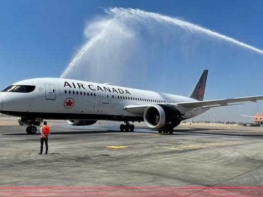 Air Canada Celebrates Inaugural Service Between Montreal and Cairo