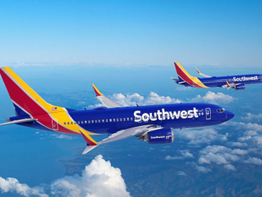 Southwest Airlines Orders 100 Boeing 737 MAX 7 Aircraft With Options for 155 More MAX Derivatives