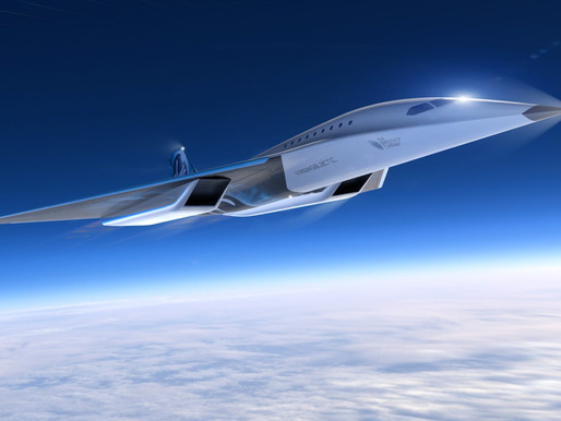 Virgin Galactic Unveils Mach 3 Supersonic Aircraft Design, Signs MOU with Rolls-Royce