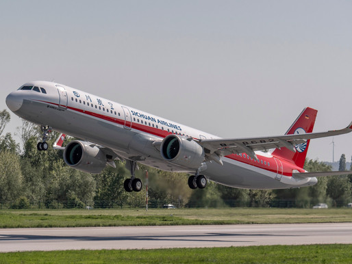 Pratt & Whitney Delivers 1,000th GTF Powered Aircraft to Sichuan Airlines