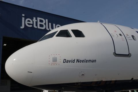 Healing Old Wounds:  JetBlue Founder David Neeleman Honored With the Launch of New A321neo