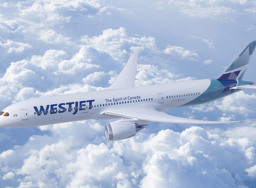 WestJet Launches Inaugural Boeing 787-9 Dreamliner Service From Toronto to London-Gatwick