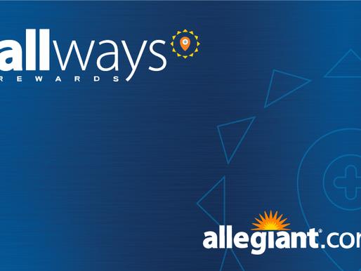 Allegiant Introduces Allways Rewards Loyalty Program, Designed Specifically for Leisure Travelers