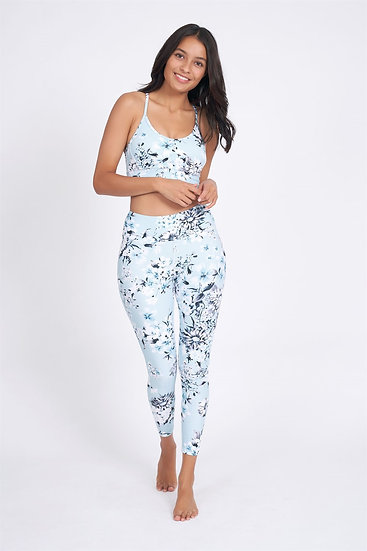 Arcadia Recycled High Waist Printed Legging