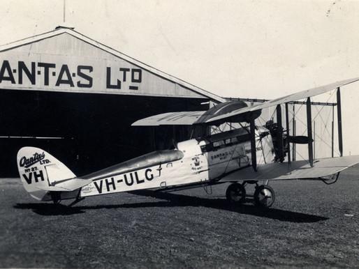 Qantas Celebrates 100 Years of Australian Service on Monday November 16, 2020