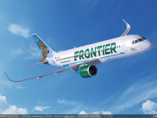 Frontier Airlines Ranked Most Fuel-Efficient U.S. Airline by ICCT