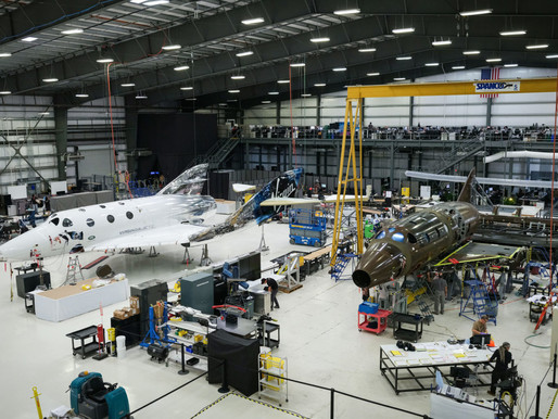 Virgin Galactic Reaches a Milestone in the Development of Their Second SpaceShip Two Vehicle