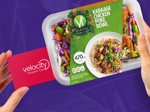 Virgin Australia's Velocity Frequent Flyer Teams With Youfoodz for New Earning Opportunity
