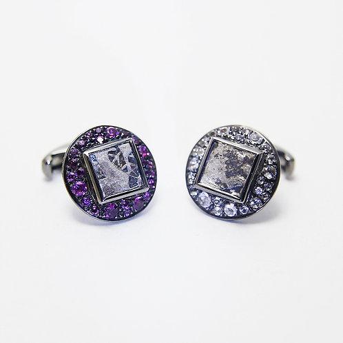 Amethysts and White Topazes  紫水晶,白色托帕石