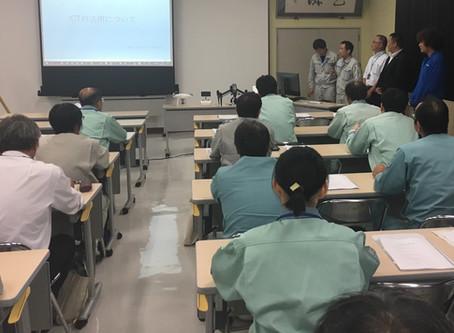 県内某所にて建設業ICT研修会