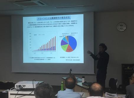 美郷町にて農業用ドローンについての講演を行いました