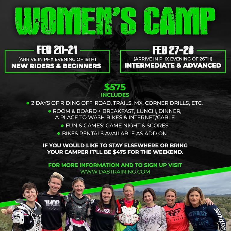 Women's Camp - Intermediate & Advanced
