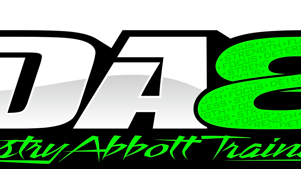 DA8 Training Sticker