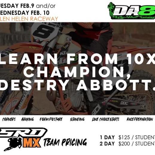 DA8 / SRD Class at Glen Helen, Ca. Feb 9-10