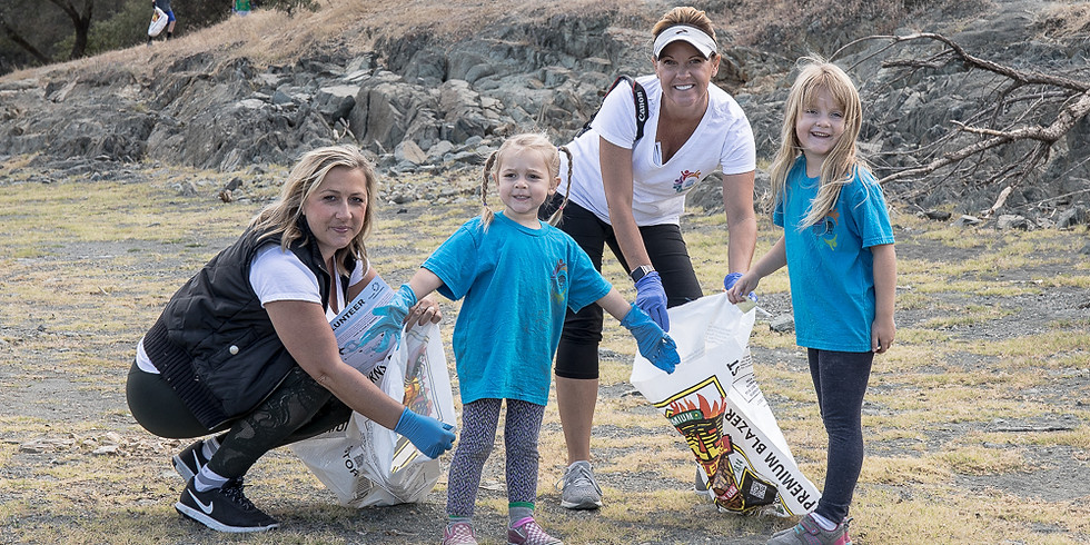 Superheroes Clean Up The Town - Folsom Lake