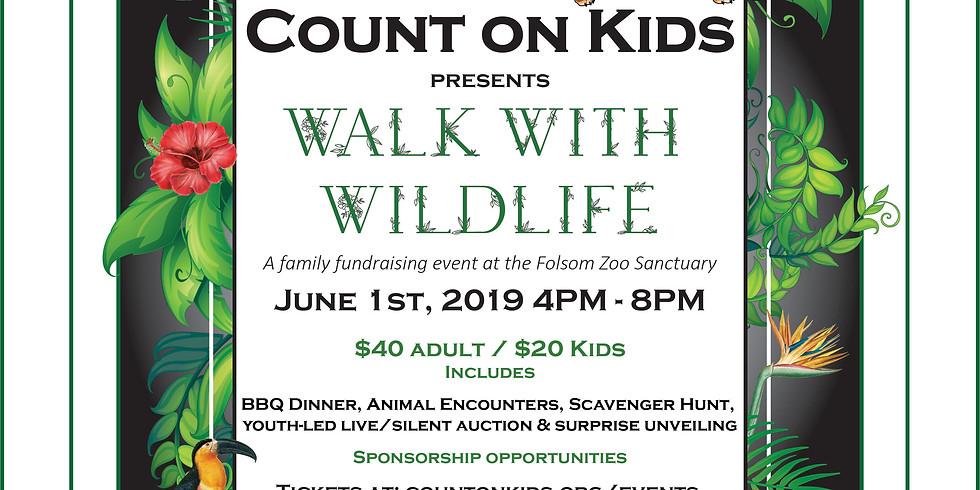 Walk with Wildlife - Family Fundraiser at the Folsom Zoo Sanctuary