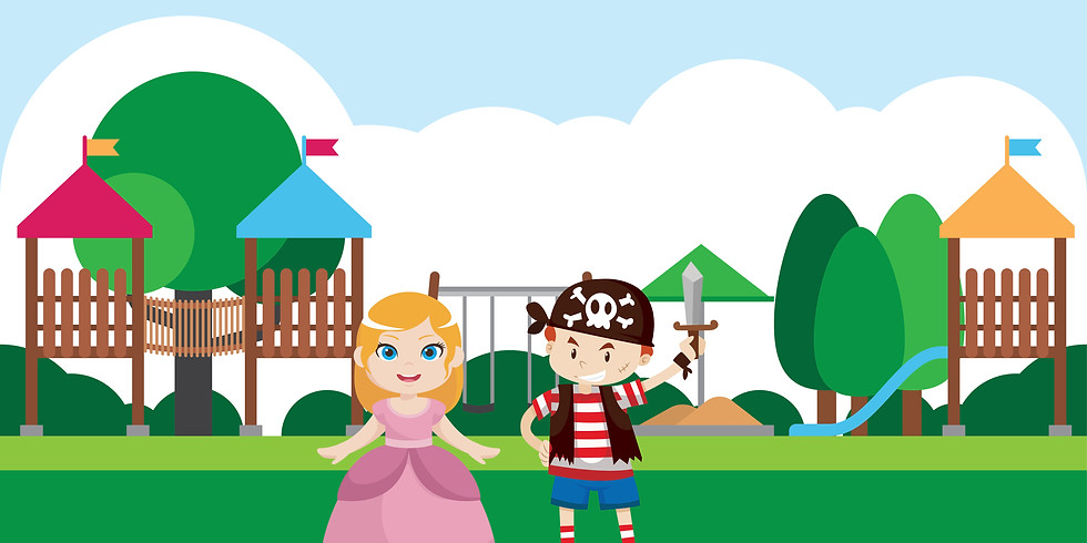 Princess and Pirate Park Clean Up
