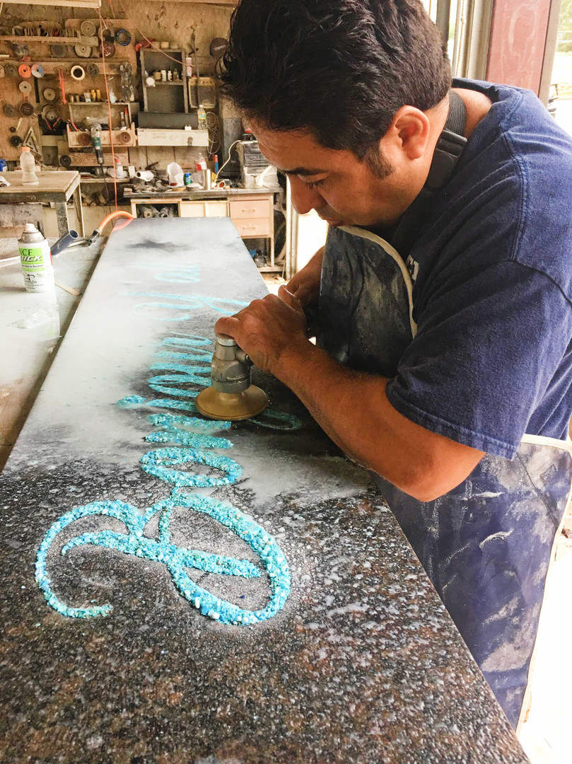 Turquoise Inlay Project