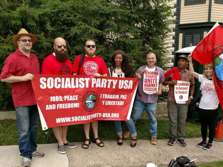 New Jersey Socialists Join Labor Day Parade at the Historic Botto House