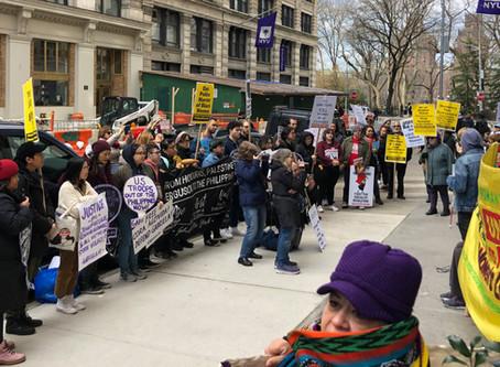 International Working Women's Day in NYC