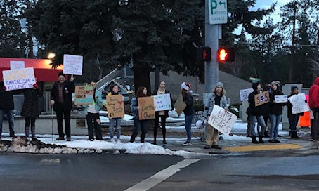 Central Oregon SP Members Join Bend Climate Strike