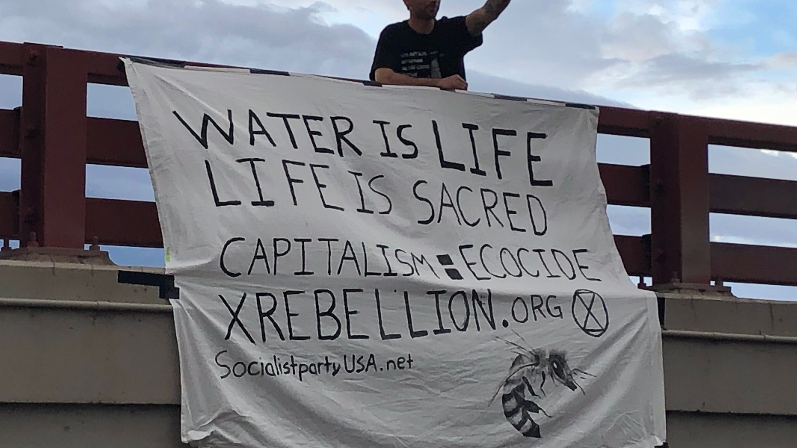 Extinction Rebellion action Bend, OR