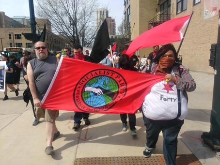 Chicago Socialist Party on May Day