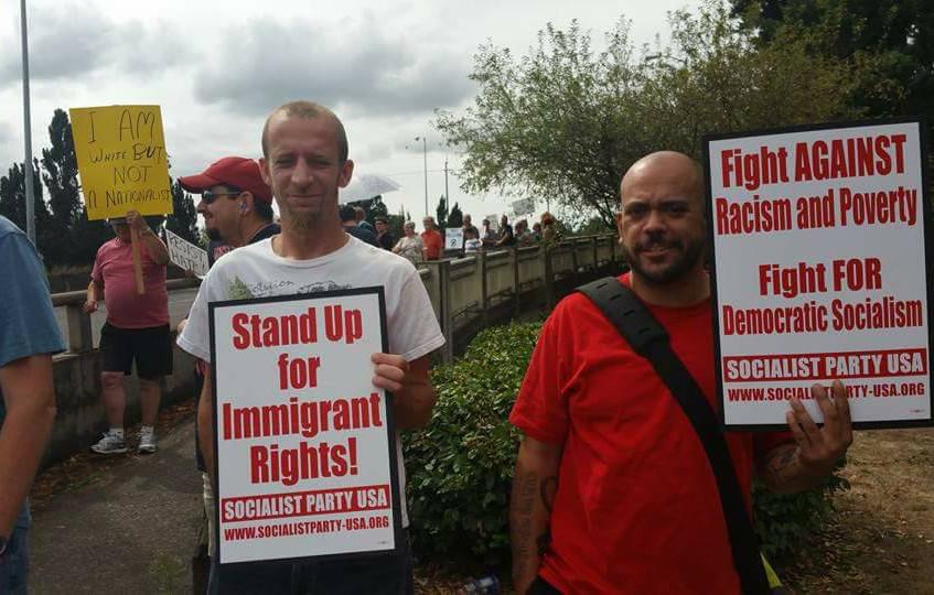 Salem Protest Against Racism