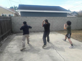 Session #3 of the Socialist Party Los Angeles Local's Self-Defense Training Program