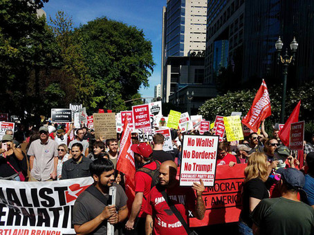 SP Members Join Action Against Hate in Portland, OR