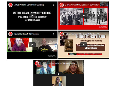 Socialist Party Holds First Virtual National Organizing Conference