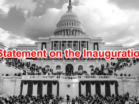 Statement on the Inauguration