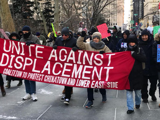 NYC Socialists Join MLK Day March Against Displacement