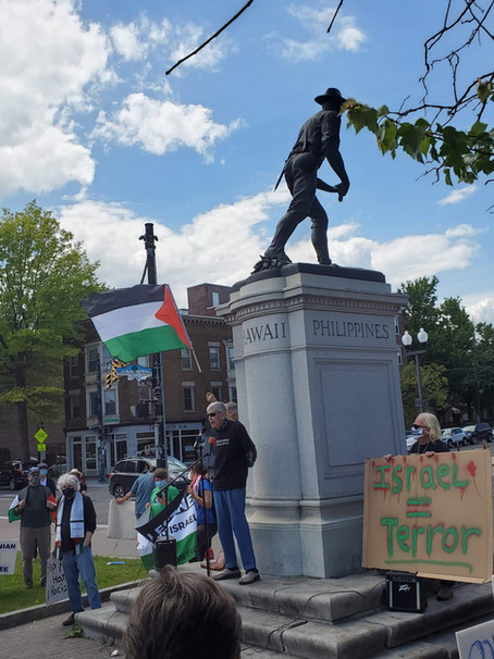 Capital District NY Local  Stands in Solidarity with Palestine