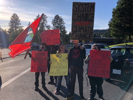 SP Comrades at Bend OR Climate Strike!