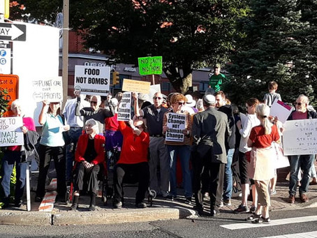North Jersey SP Joins Montclair Climate Strike Actions