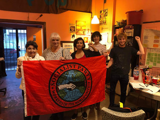 The Socialist Party of Long Beach Has Officially Chartered!