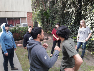 The Socialist Party Los Angeles Local Hosts its Second Self-Defense Session