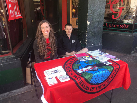 Puget Sound Socialist Take Part in Olympia Art Walk