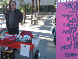 Inland Empire Socialist Party's at Women's March Event