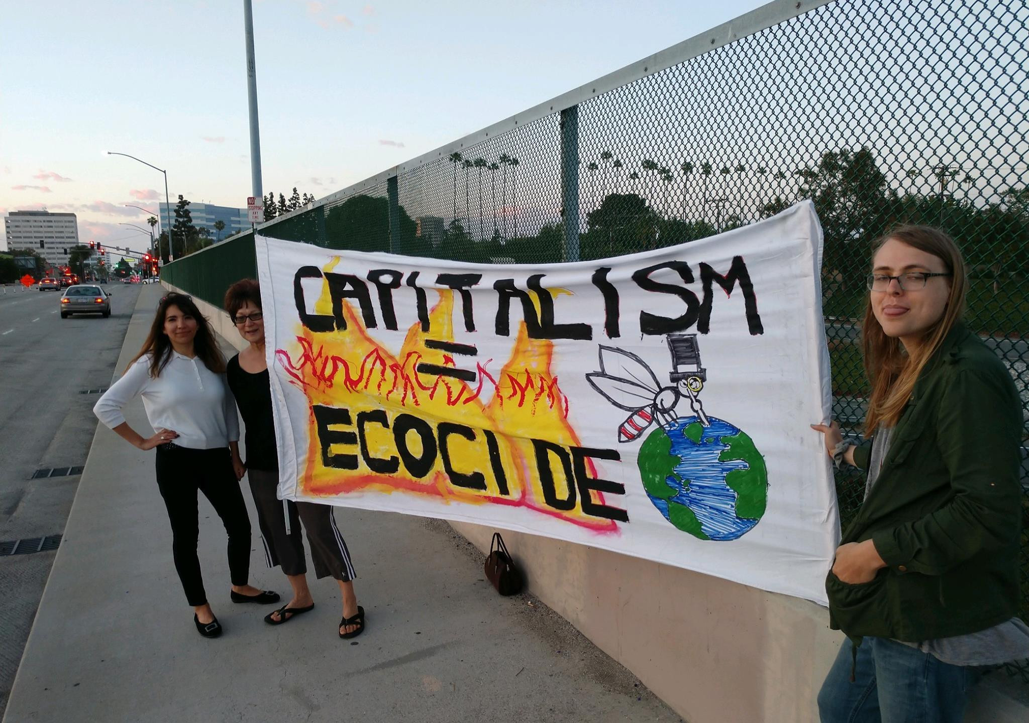 Extinction Rebellion action Orange County CA